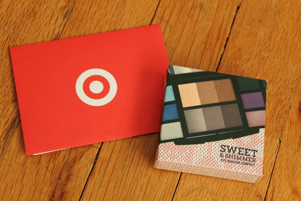 Christmas Giveaway Target Gift Card and Eye Shadow Palette