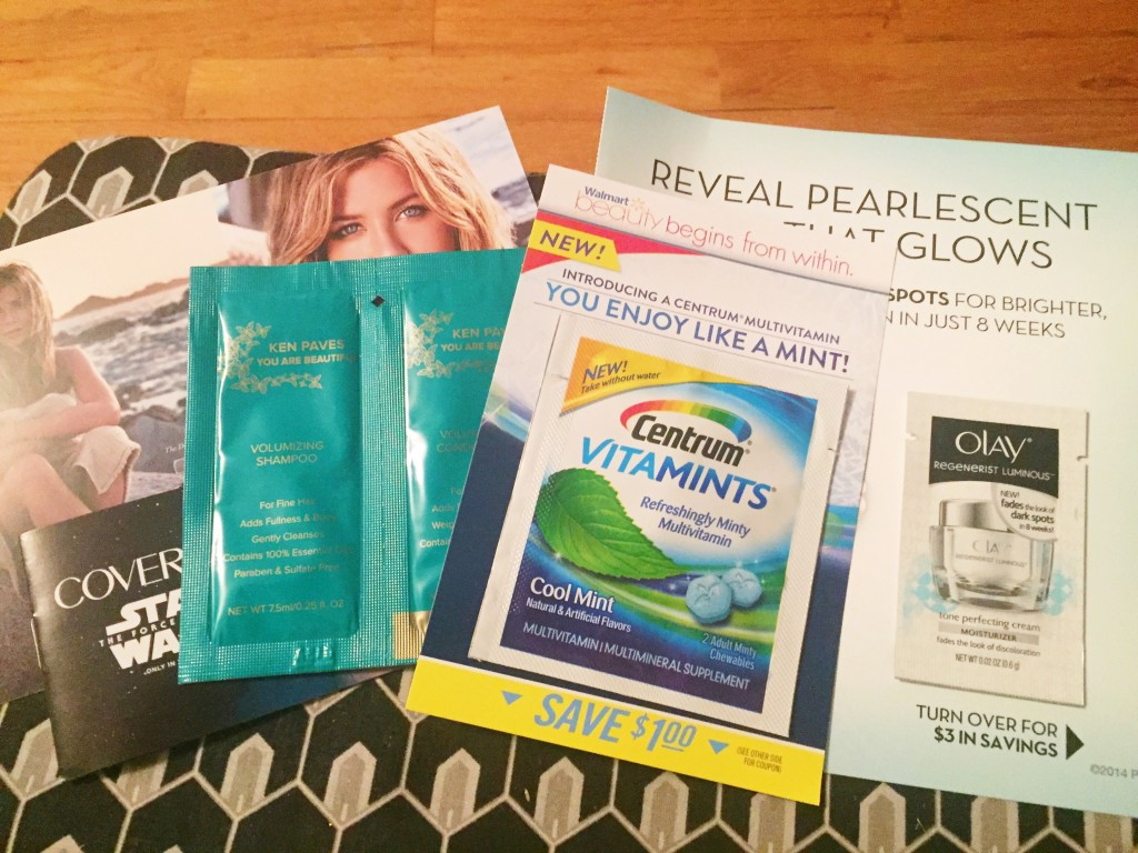 walmart beauty box samples and coupons