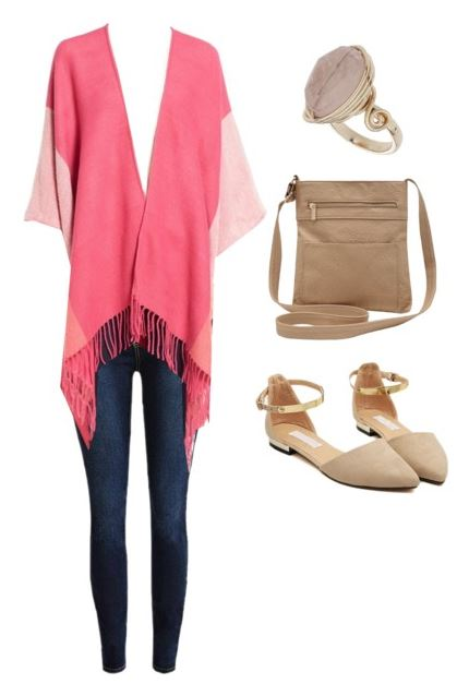 how to wear pink boho