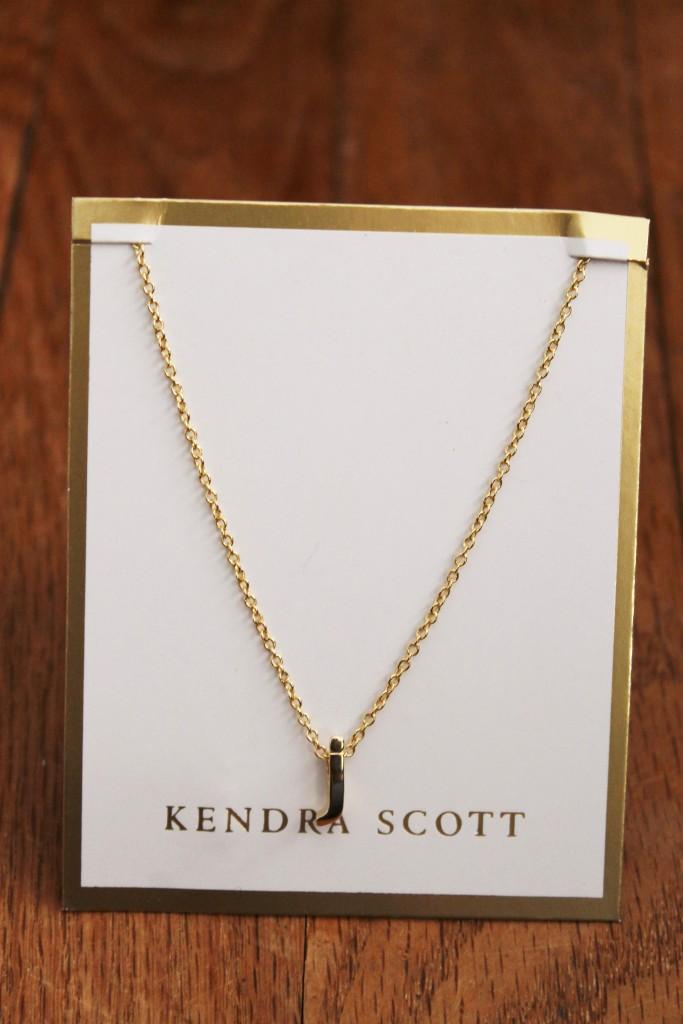 christmas recap kendra scott initial necklace