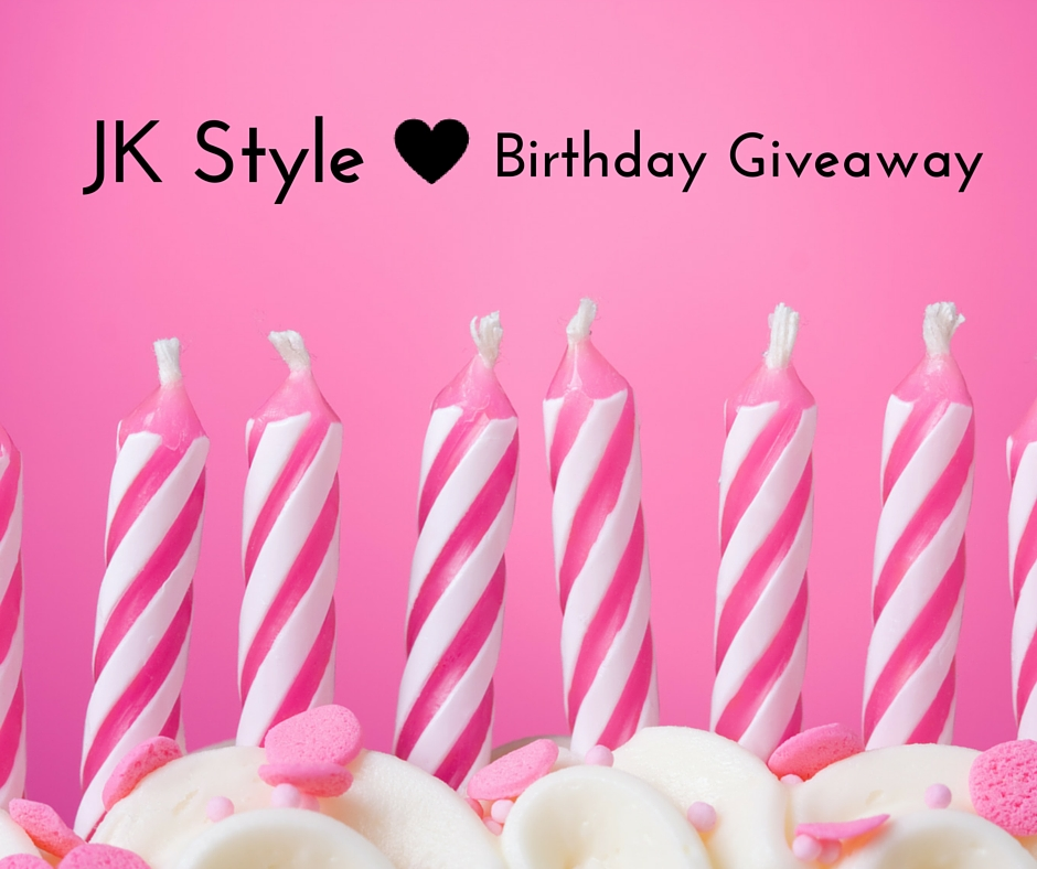 jk style birthday giveaway