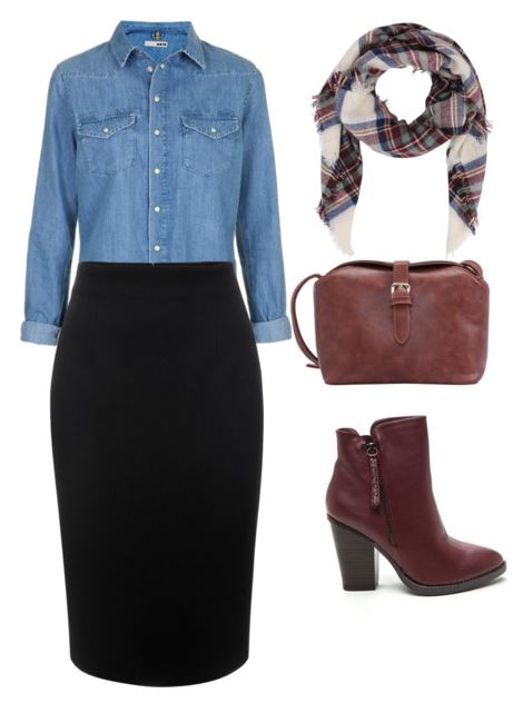 black pencil skirt styling 4