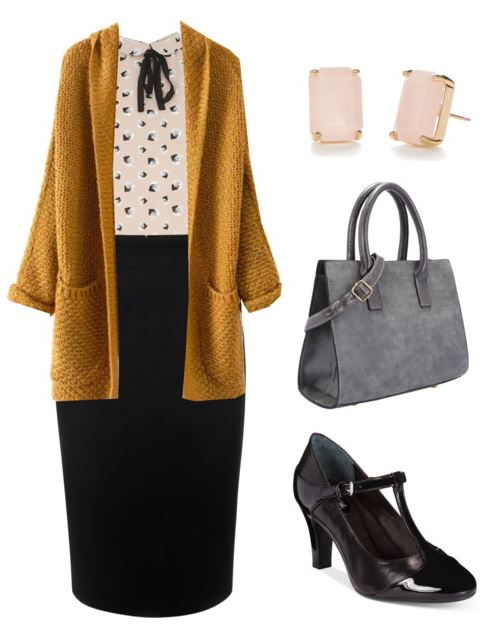 black pencil skirt styling 5