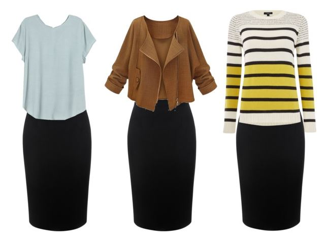 black pencil skirt styling bonus 1