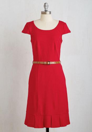 ModCloth My Byline of Work Dress