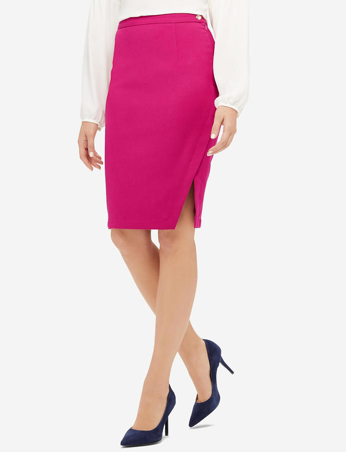 The Limited Pink Pencil Skirt
