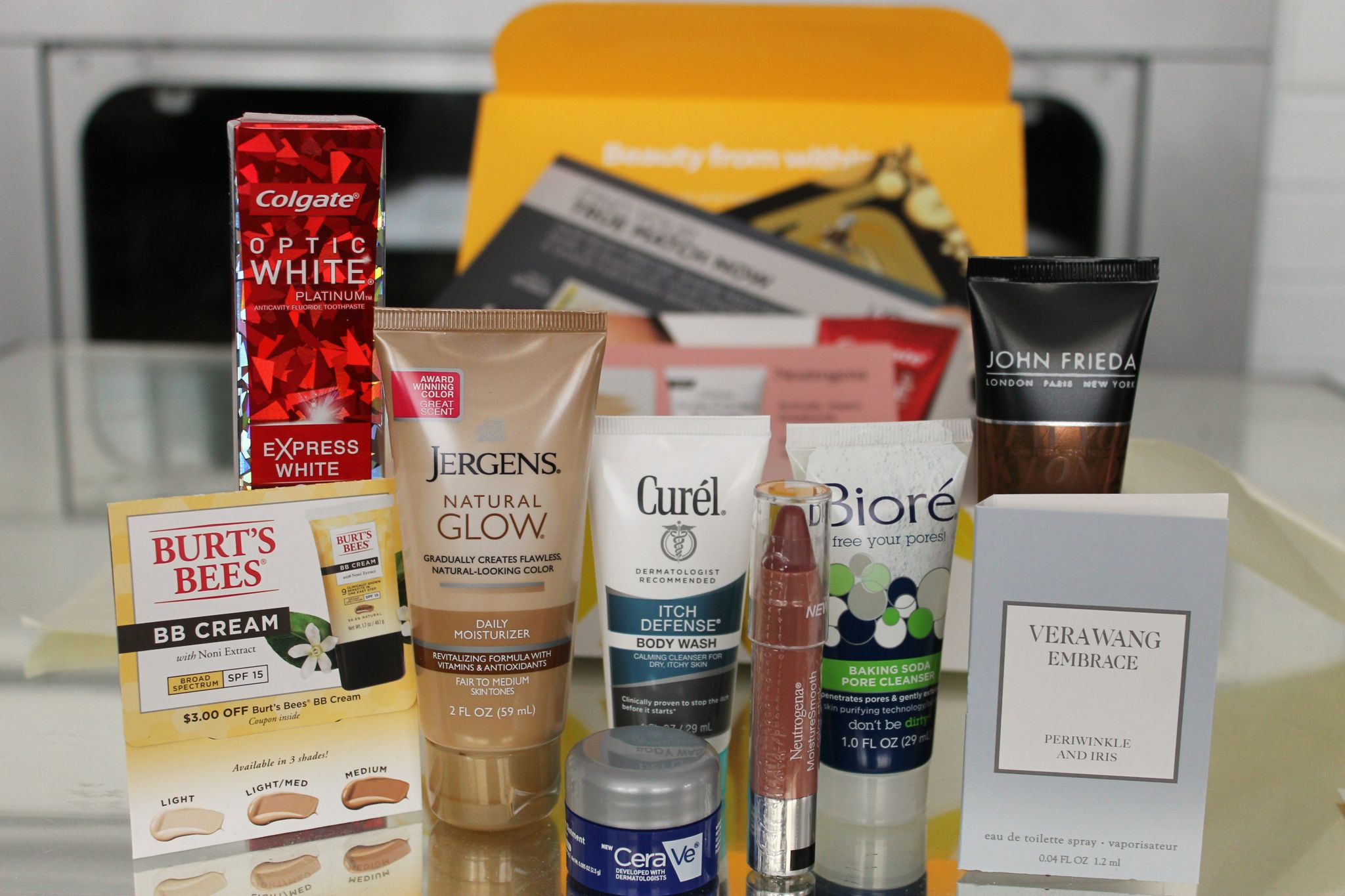 spring walmart beauty box review