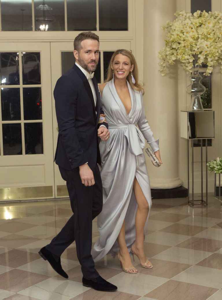blake lively ryan reynolds canadian state dinner