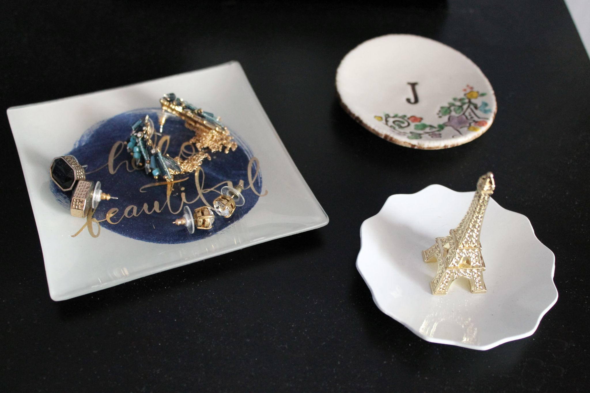jewelry organization trinket trays