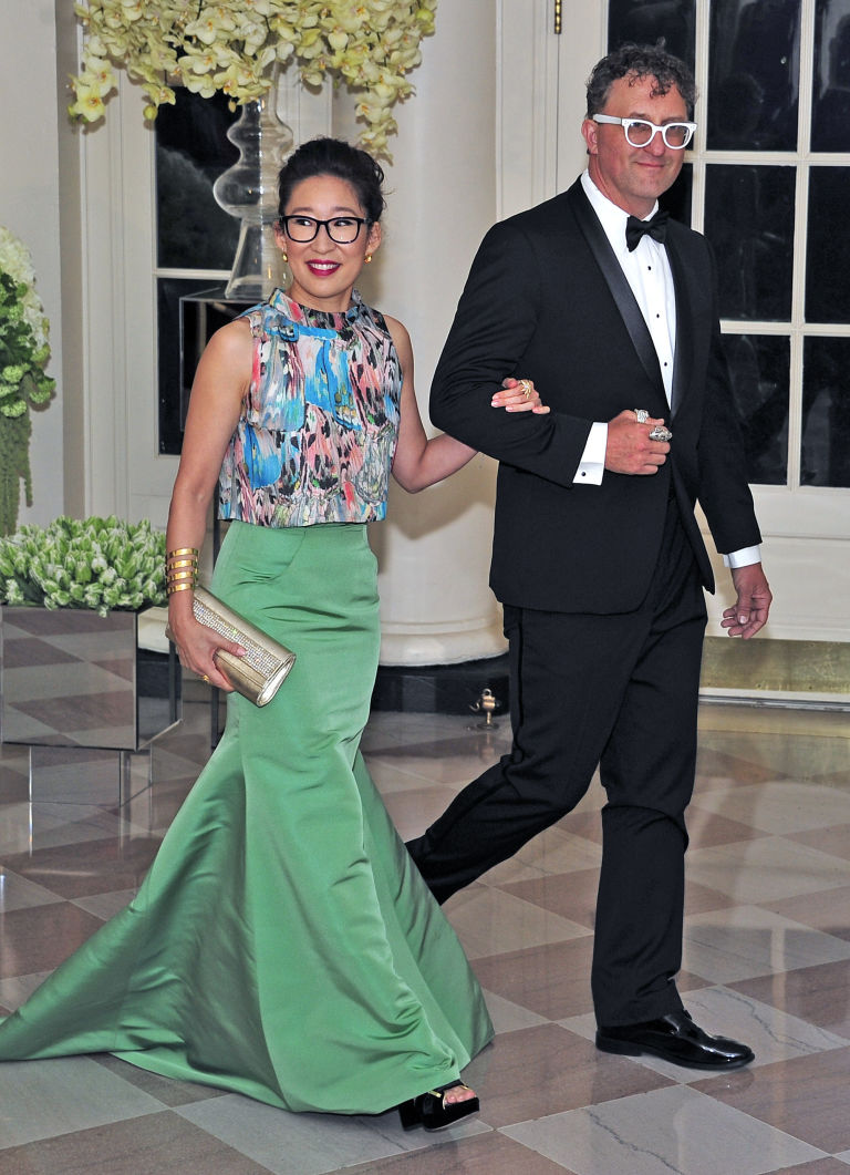 sandra oh canadian state dinner