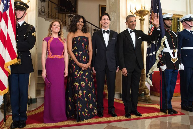 white house canadian state dinner