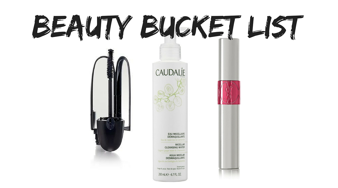 BEAUTY BUCKET LIST