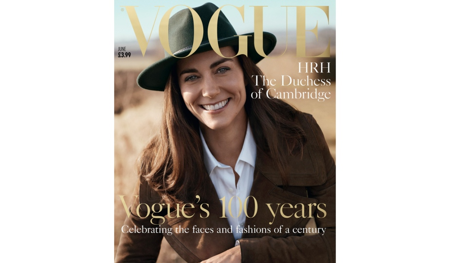 kate middleton british vogue