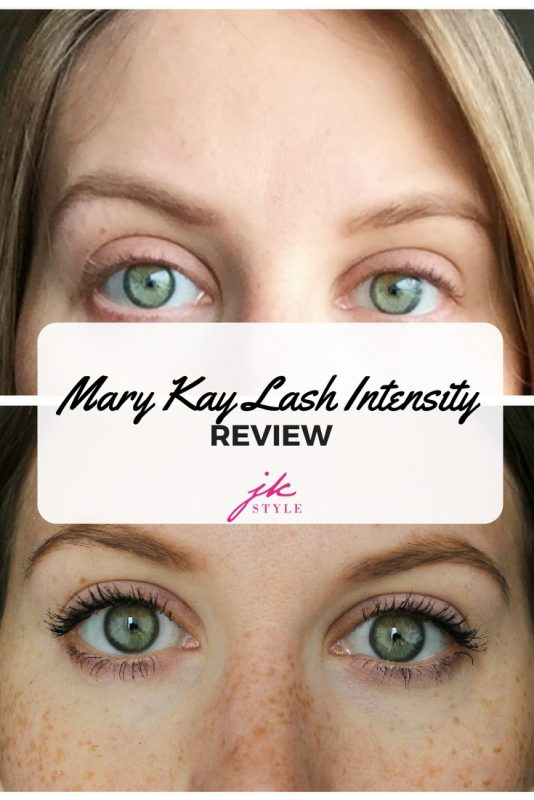 Mary Kay Lash Intensity Review on JK Style featuring before and after photos