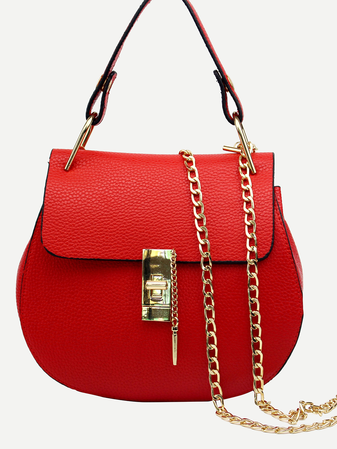 shein red bag