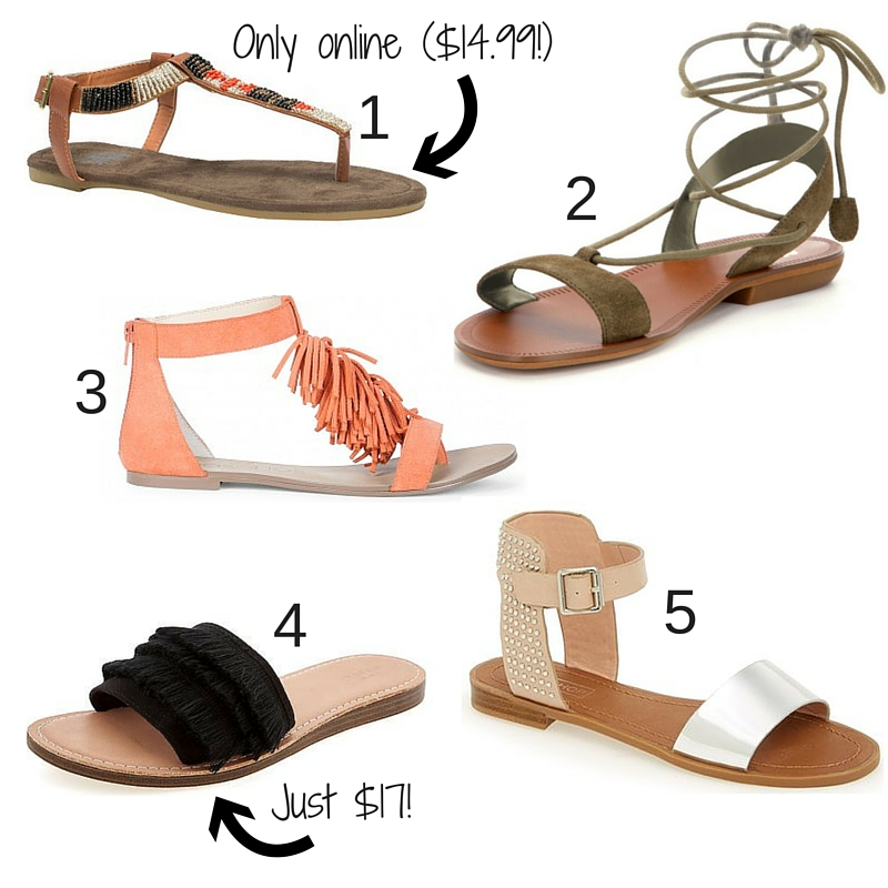 summer shoes flats