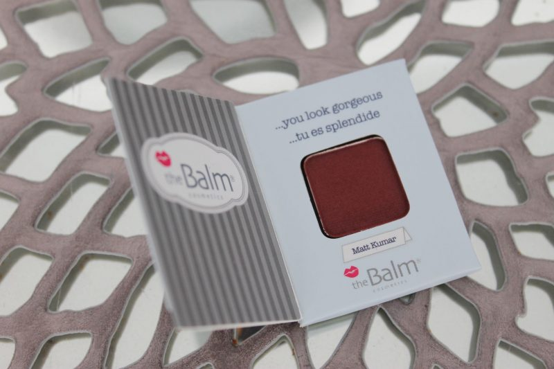 July Ipsy The Balm Cosmetics Meet Matt(e) Trimony