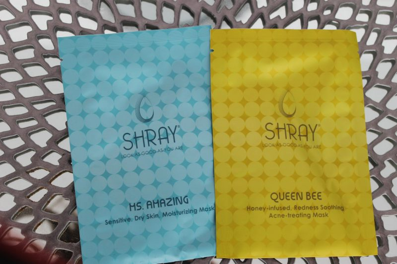 July Ipsy Glambag Shray Masks
