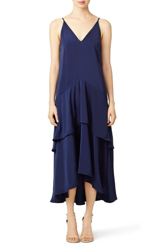 keepsake navy mercy maxi dress rent the runway friday favorites