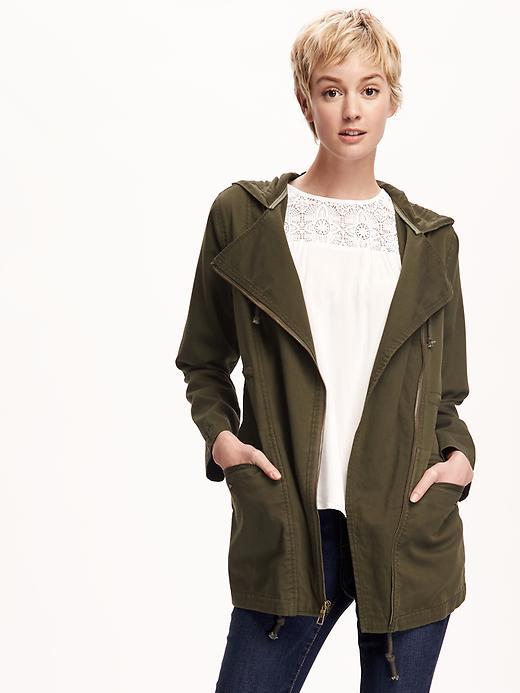 old navy utility parka jacket