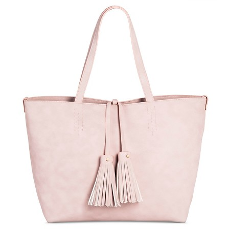 target women's tote with crossbody handbag merona pink