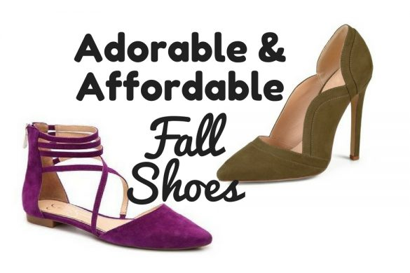 adorable and affordable fall shoes