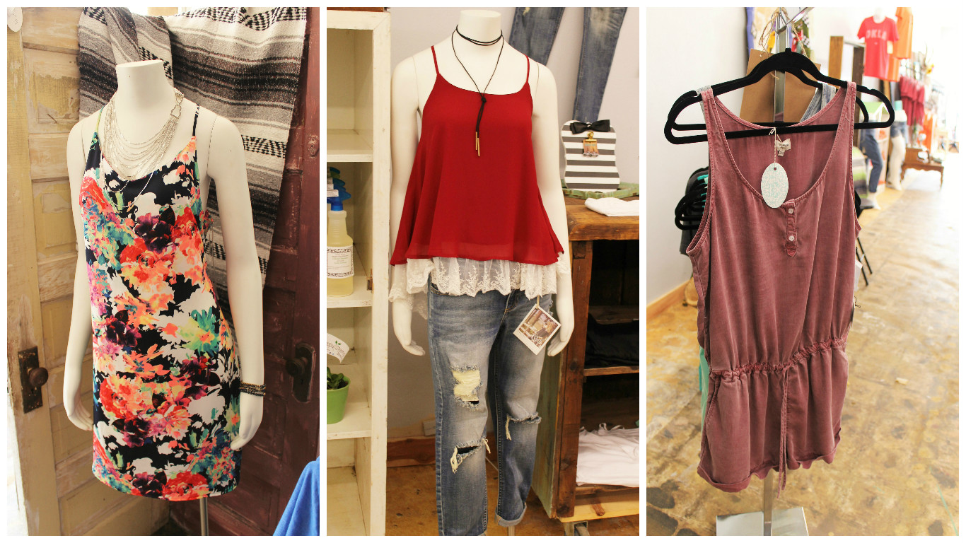 Clothing from Southern Essence Boutique