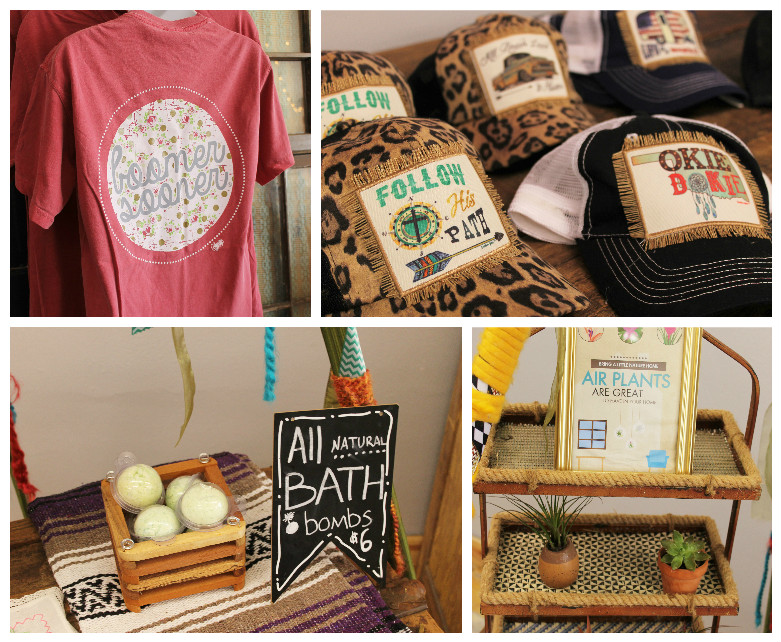 Merchandise from Southern Essence Boutique