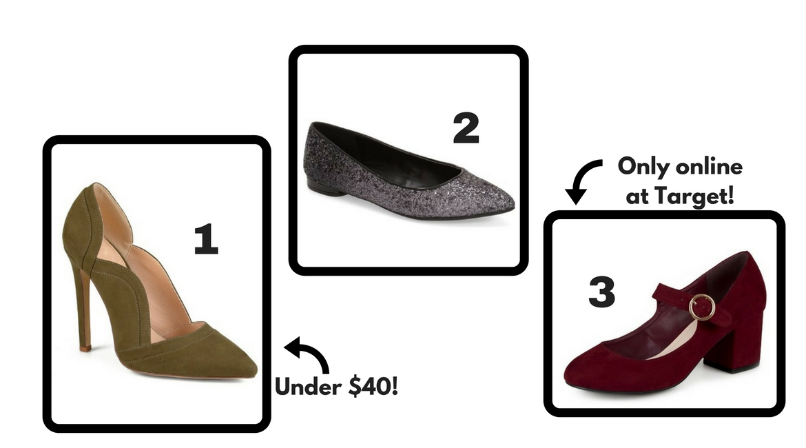 affordable fall shoes group 2