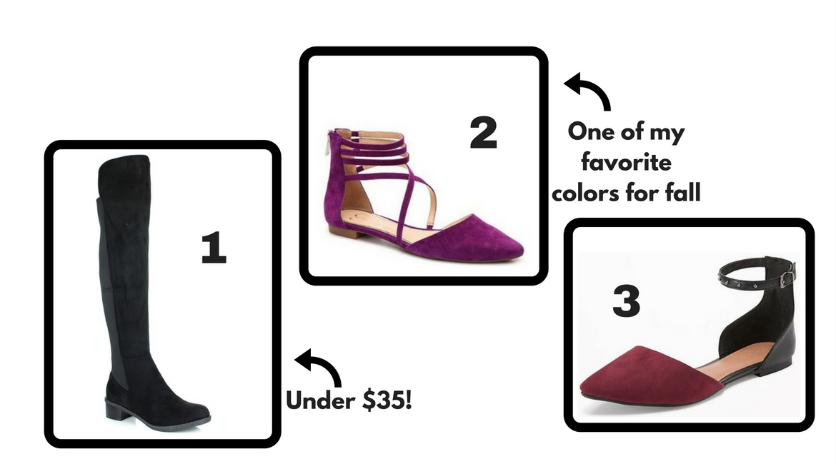 affordable fall shoes group 3