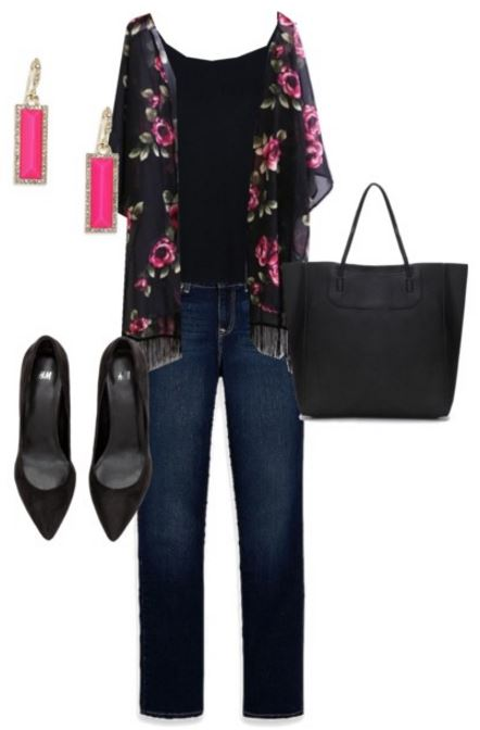 jeans and tee third outfit