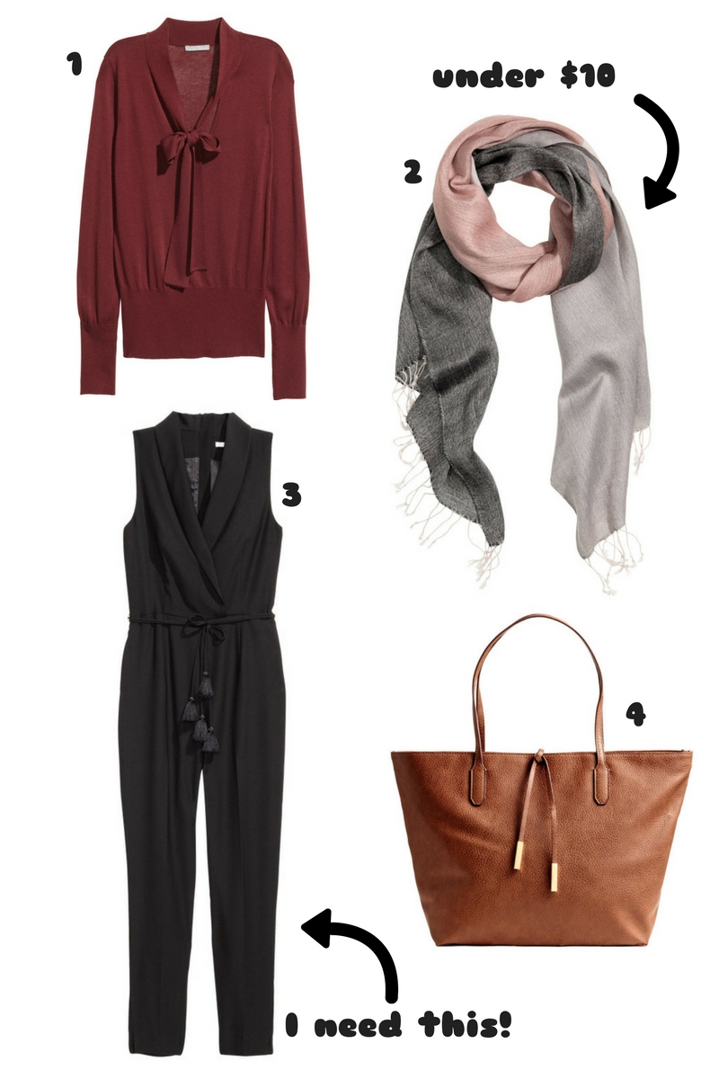 H&M items Thrifty Thursday
