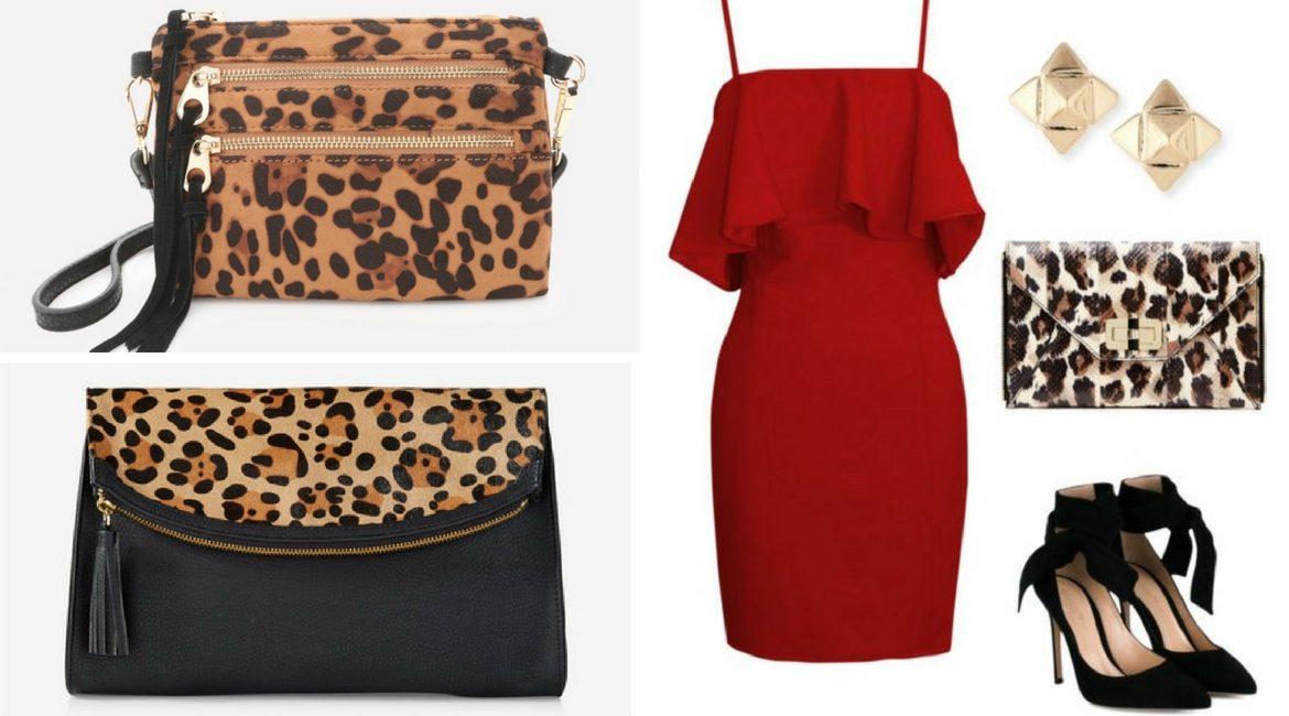 what to wear with a leopard print bag cover
