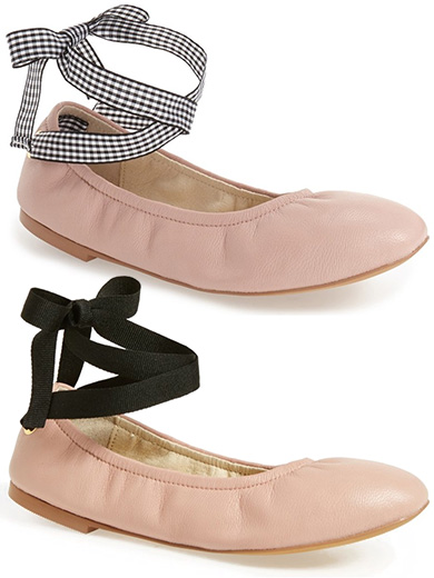 Miu Miu Ballet Flats look for less Steve Madded Meow Ribbon Tie Ballet Flats