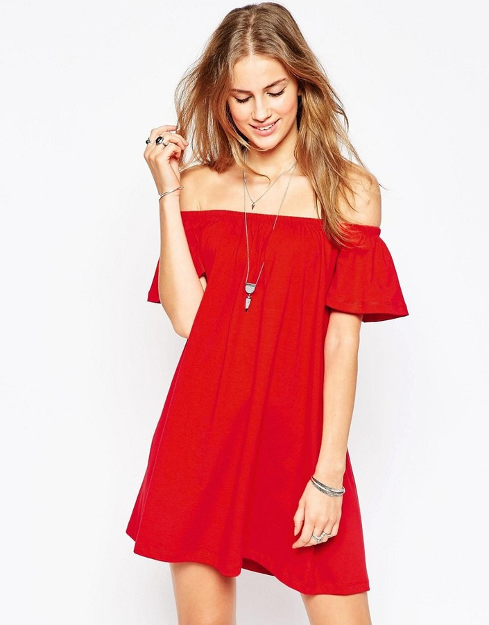 shopstyle-asos-off-shoulder-mini-dress