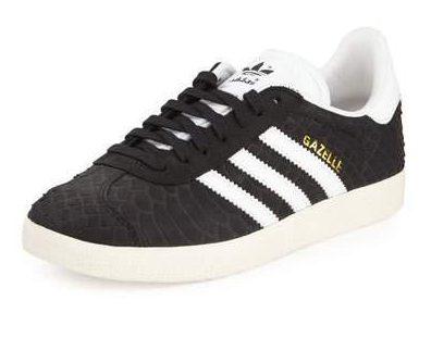 ShopStyle Trend Adidas Gazelle Snake-Embossed Sneaker