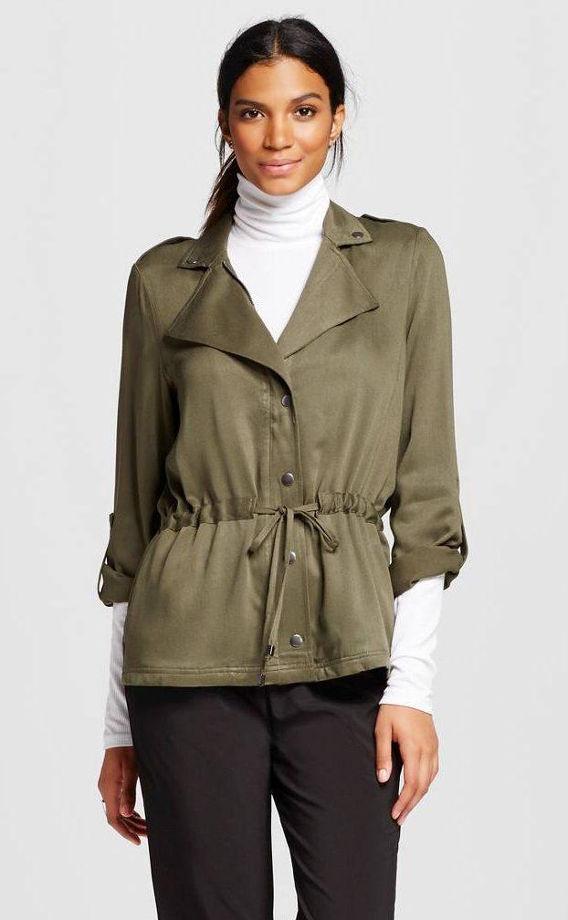 Target Mossimo Military Jacket September Wishlist