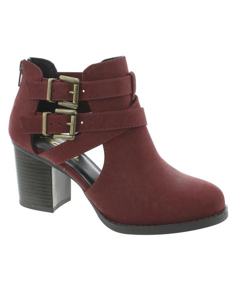scribe ankle strap bootie