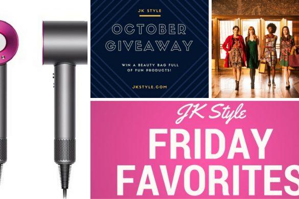 JK Style Friday Favorites for October 14, 2016