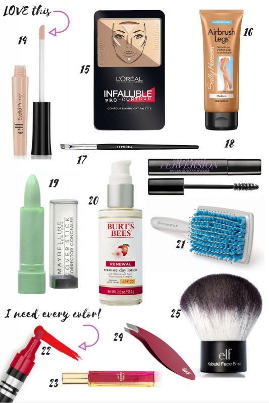 25 Favorite Beauty Items Under $25 on JK Style