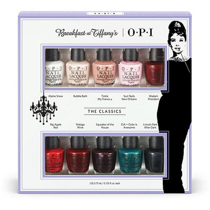 Breakfast at Tiffany's OPI mini nail polish collection