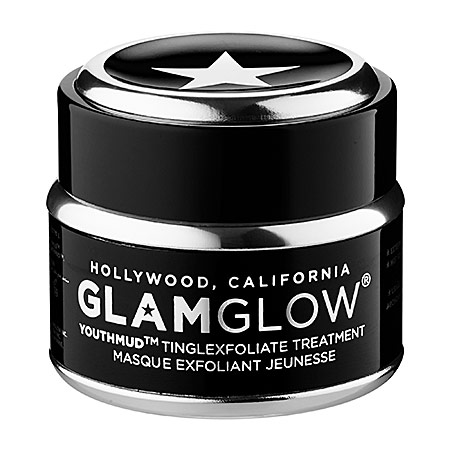 Facial Masks I Love GlamGlow YouthMud Tinglexfoliate Treatment
