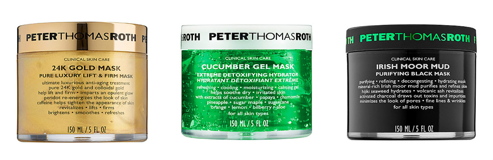 Facial Masks I Love Peter Thomas Roth