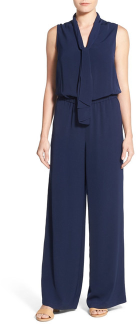 Jumpsuits under  Halogen Tie Neck Jumpsuit