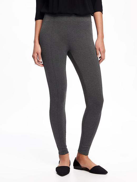 Old Navy Mid-Rise Ponte-Knit Leggings
