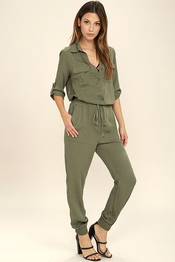 Jumpsuits under  Sensible Solution Olive Green Jumpsuit