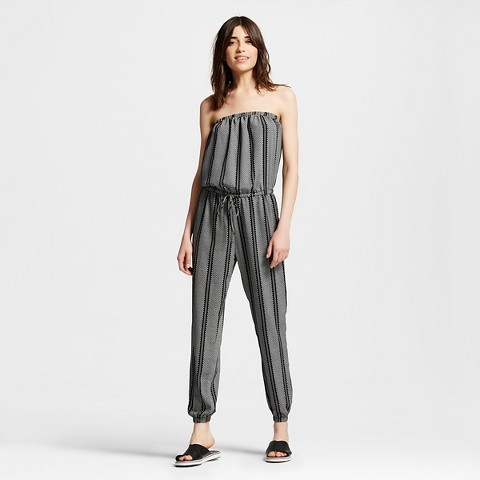 Jumpsuits under  Women's Tie Waist Woven Jumpsuit