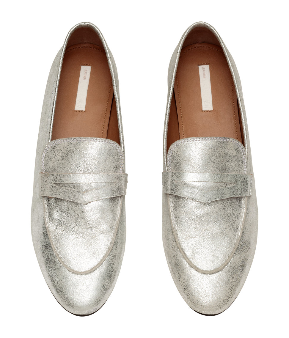 Friday Favorites silver loafers