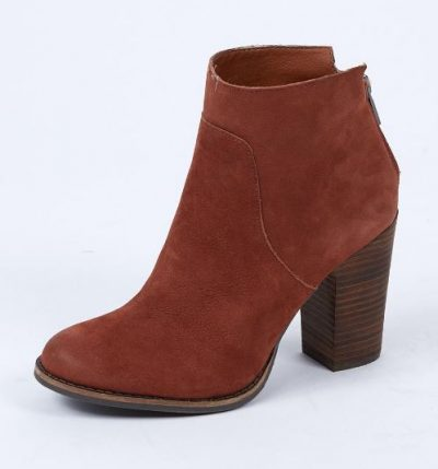 Friday Favorites cognac booties