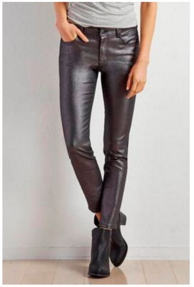 November Wishlist Coated Skinny Pants